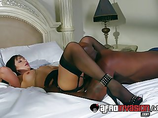 Lea Lexus Is All About The Big Black Cock