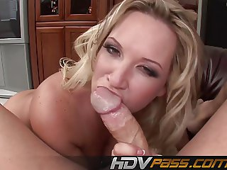 HDVPass Thick Blonde with Big Ol' Titties