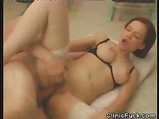 Female Doctor Fucked And Gets Jizzed