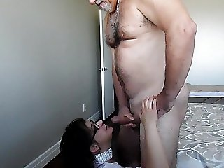 Trinity ass fucking, fisting and cum on face