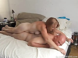 Horny old spunker is super hot fuck and loves cum