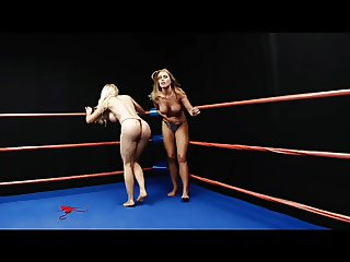 Blonde on Blonde Topless Wrestling