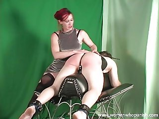 Spanking the slave