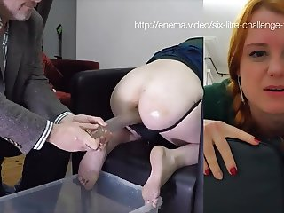 Miss FIona's Six Litre Enema Full Preview