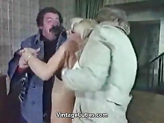 Slutty Blonde Humiliated Really Tough (1970s Vintage)