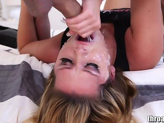 THROATED CHALLENGE! Vote ABBY CROSS