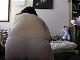 Doggie Style Hitachi Use Geeky chubby girl