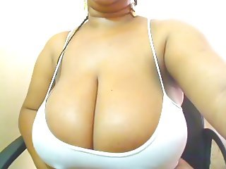 caught her big titties and nipples