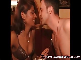 Velvet Swingers Club real orgy with mixeing couples sex
