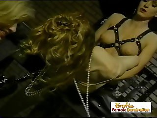 Crossdresser Captured And Dominated By Three Mistresses