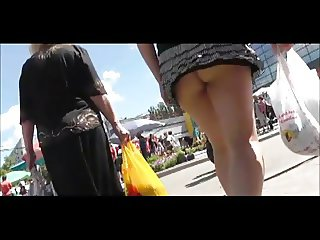 Upskirt - very short skirt