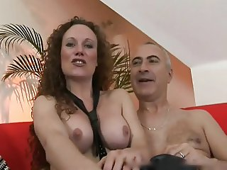 Old man and a whore