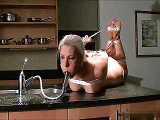 Faucet gagged