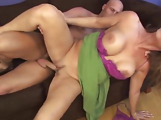 Blonde big tits mature milf in a dating service