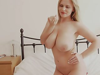 This blondie babe sure has one of the best natural tits i have ever seen
