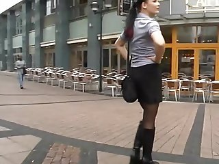 Young German Girl Wants Group Public Fuck