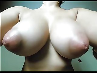Interesting Tits on Webcam (Torpedo Tits)