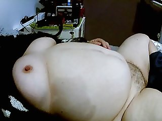 Wife Gives me a Hand Job and a look at her Pussy and Tits