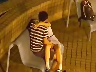 Student Couple at Park
