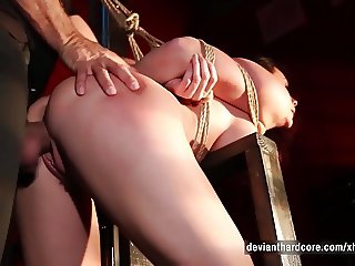 Chanel Preston Rope Bondage Rough Sex