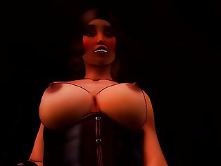 Monica Strapon - 3D Femdom (animated)