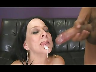 Horny gilf hungry for his young cock