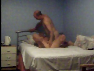 Hidden cam catches wife giving and recieving dirty sex