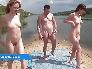 Beach dreams squirting nude