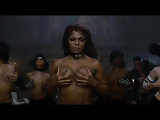 Janets Amazing Abs And Huge Tits Sexy