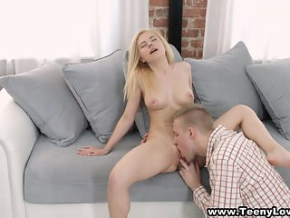 Hot chick modeling and fucking