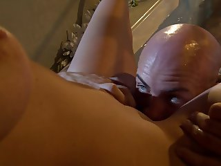 Tattooed derrick treats his girl to a fierce doggystyle throbbing to satisfaction