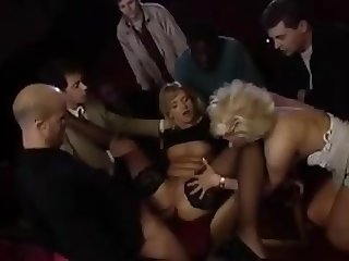 Group sex at the movie house !!!