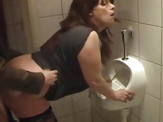 whore fuckin'  kathy in my local pub toilet