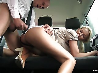 FuckedInTraffic - Czech Karol Lillien fucked in the car