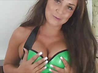 green latex tease