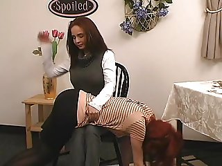 Red Head Spanked
