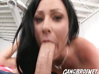 Anal Beads and Big Dick in the Ass