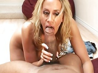 Blond MILF big cock pleasure