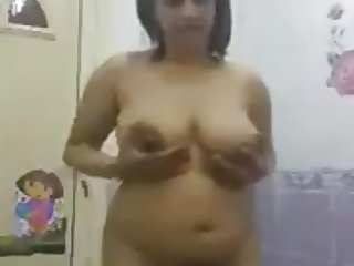 arab girl showing  tits ass body