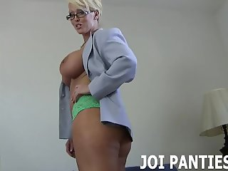 I wore your favorite pair of panties to work today JOI