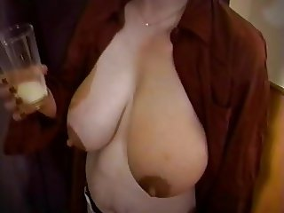 Mom's huge lactating boobs need relief 4