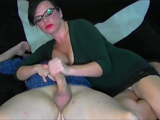 Sexy Cougat With Glasses & Big Tits