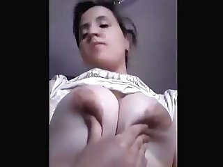 soria show very big tit for love