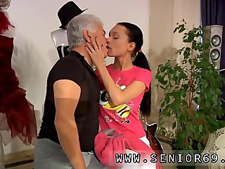 Old lesbian ass licking Clair is having