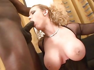 big boobs whore double anal interracial