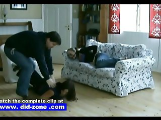 Captured Girlfriends In Peril - Did-zone.com - Tied Up Doggy
