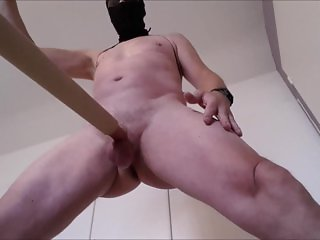 vacuumcleaner sucking my dick from soft to semihard with great handsfree cu