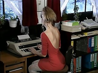 Debbie, hot office fuck