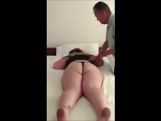 BBW Gets A Rub Gives A Blow