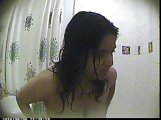 Indian Girlfriend DC in Hidden Shower Cam 3
